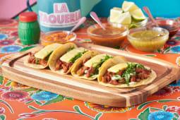 Tacos con pastor (4uds.)