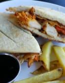 Sándwich crujiente de pollo