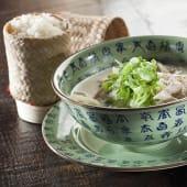 Curry verde thai con pollo