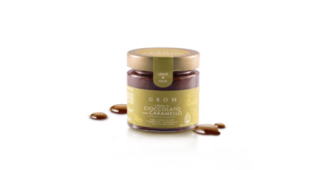 Crema Spalmabile al Cioccolato e Caramello Salato