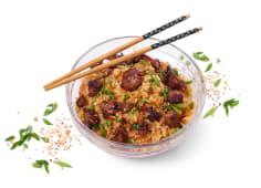 ბრინჯი საქონლის ხორცით