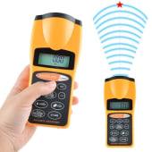 Medidor De Distancia Ultrasonico Laser Metros Area Volumen