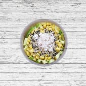 Ka popo & aguacate salad
