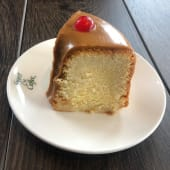 Torta de naranja (porción)