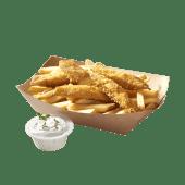 Fish & Chips z dorszem czarnym