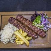 Люля-кебаб із телятини  і баранини (200/100/70/50г)