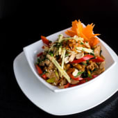 King Ginger Pork or Beef with Peanuts