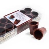 Bicchierini di Cioccolato Fondente gr.80 pz.12