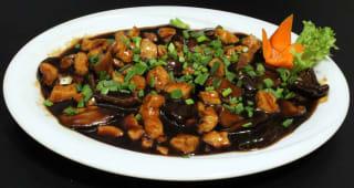 ქათმის ხორცი ჩინური შამპინიონით, F5