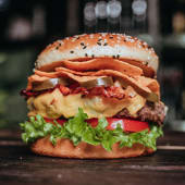 Burger El Macho 390g