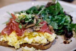 Egg toast 1