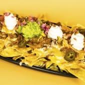 Super nachos Ración