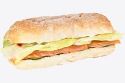 Сендвіч з лососем с/с