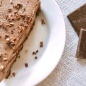 A Tarte de Chocolate mais saudável - Vegan