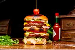 Meniu Double  Point Burger