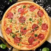 პიცა სალიამით 16 სმ