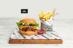Бургер-меню с котлетой на выбор