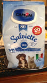 Salviette detergenti profumatissime per cani e gatti
