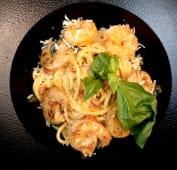 Spaghetti A.O.P. cu creveți