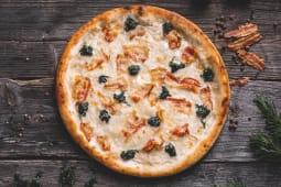 Pizza Spinaci con pancetta Ø 32cm