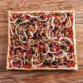 Pizza tradicional del chef (grande)