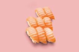Sushi saumon (8 pièces)