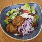 Ensalada griega (vegetariano)
