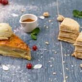 Грушевий пиріг (200г)