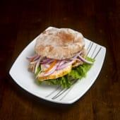 Sándwich de butifarra artesanal