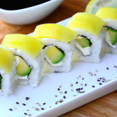 Veggie tropic roll (5 uds.)