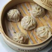 Xiaolongbao Relleno de Cerdo, Setas y Foie