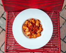 Mezzamanica all'amatriciana