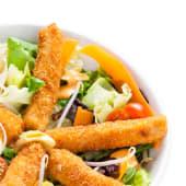 Crispy salad de pollo