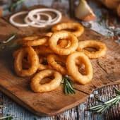 ხახვის რგოლები 10 ც/Onion Rings 10 pcs