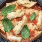 Кальмари гриль з томатною сальсою та брускетою (300г)