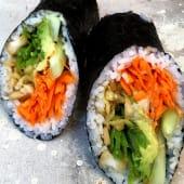 Roll (burrito) veggie
