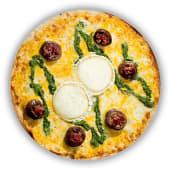 Pizza Cistelletes de Xampinyons amb Pesto (petita)