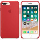 Coque Original Apple en silicone Red Edition