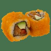 Masago california tartare saumon