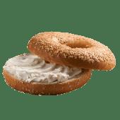 Bagel Con Crema De Queso