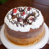 Torta Helada de Chocolate ( 8 porciones)