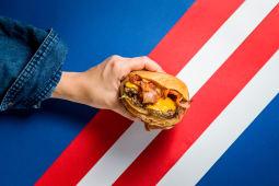 Burger single bacon