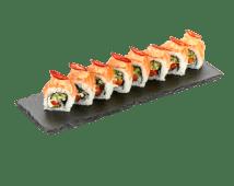 Ролл Филадельфия с лососем и спайси креветкой (265 г)
