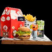 Kids box для девочек с куриным гамбургером