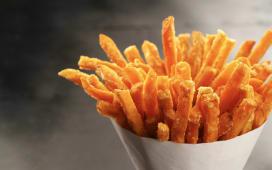 Patatas fritas grandes
