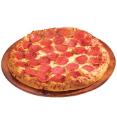 Pizza 1 ingrediente familiar