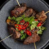 Азіатський стейк-міньйон з овочами (160/190г)
