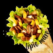 Shaorma Pui pe plită sandwich