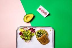 Авокадо тост з різноманітним насінням (250г)