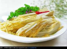 Пекинская капуста с перцем